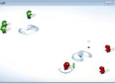 (SnowCraft)經典小遊戲打雪仗