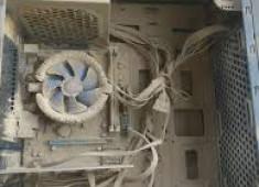 夏日電腦清潔保養-台中西屯逢甲電腦清潔