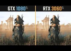 RTX 3060 Ti vs. GTX 1080 Ti (10款遊戲測試)電馭叛客2077