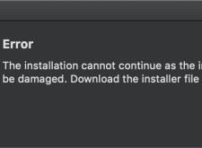 Mac安裝Adobe軟體,提示Error解決方法(Error The installation)